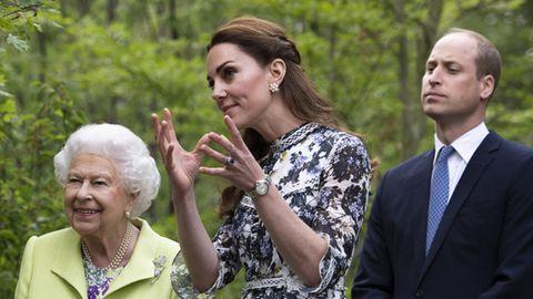 Kate, William, Queen