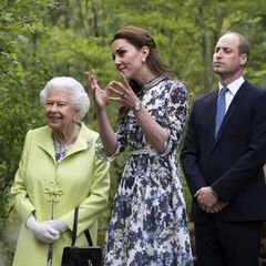 Kate, William, Queen
