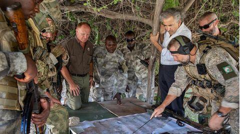Bernard-Henri Lévy in Somalia, im März 2020