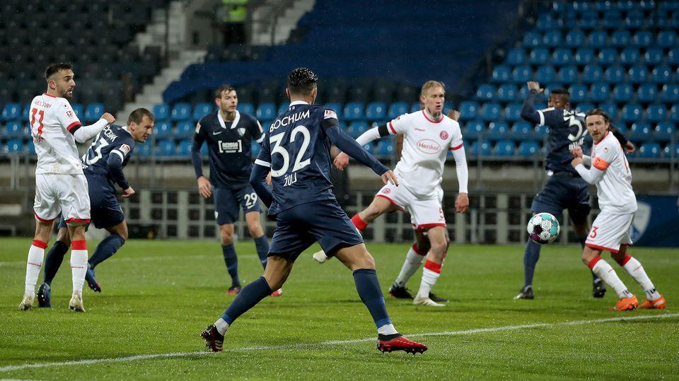 Der VfL Bochum erzielt das 2:0 gegen Fortuna Düsseldorf