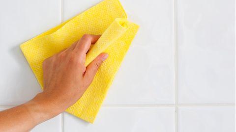 Putzlappen oder Küchenrolle