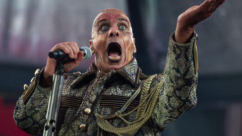 Till Lindemann von Rammstein kündigt neue Projekte an.