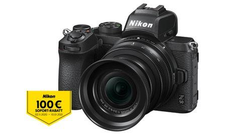 GEWINNSPIEL: Gewinnen Sie die Nikon Z 50 mit 16-50 mm Objektiv für magische Aufnahmen