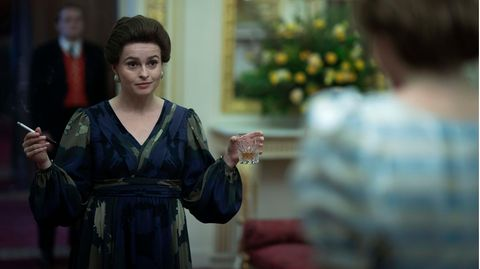 "Helena Bonham Carter als Prinzessin Margaret in der vierten Staffel von ""The Crown"""