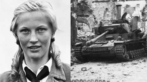 Vor dem Attentat war Ilse HirschHauptgruppenführerin des BDM.