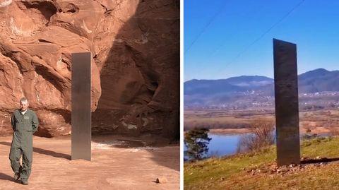 Monolith aus Utah jetzt in Rumänien?