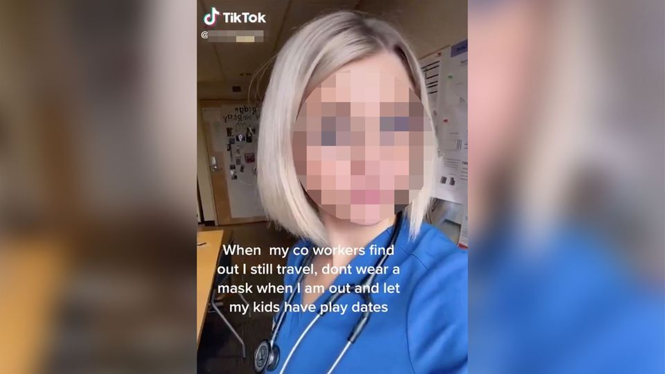 Oregon: Krankenschwester nach Tiktok-Video beurlaubt