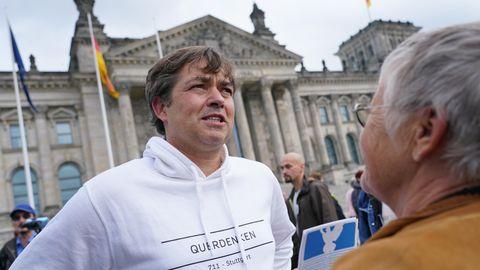 Michael Ballweg ist Gründer der Stuttgarter Initiative Querdenken und will an Silvester in Berlin eine Groß-Demo veranstalten