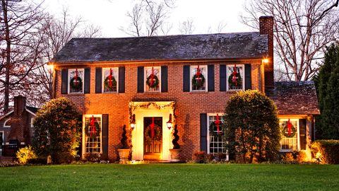Weihnachtliches Haus