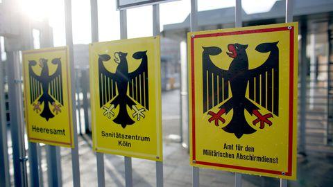MAD ermittelt gegen mögliche Reichsbürger bei der Bundeswehr.