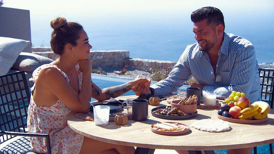 """""""Die Bachelorette"""": Melissa und Ioannis bei ihrem Dream-Date"""