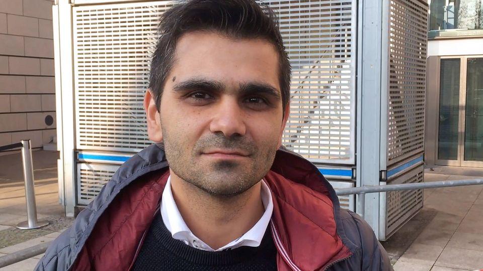 Halle-Prozess: Erkan Görgülü, Nebenklageanwalt und Vertreter des Vaters von Kevin S.