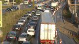 Verkehr belastet die Straßen