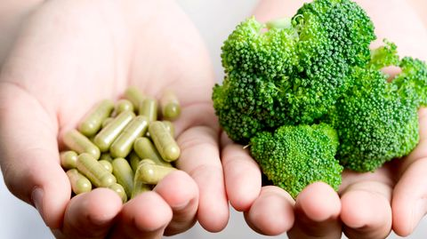 Gesunde Ernährung oder Pillen?