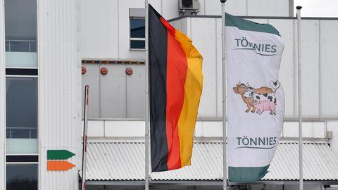 Tönnies-Schlachtereibnetrieb in Weißenfels, Sachsen-Anhalt