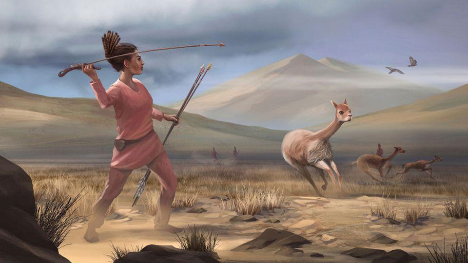 Eine Frau gehört an den Herd? Nicht in der Steinzeit.
