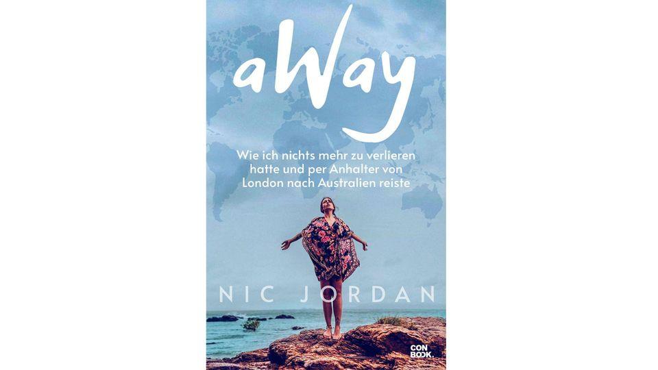 """""""AWay"""" von Nic Jordan. Erschienen bei Conbook, 416 Seiten, Preis: 16,95 Euro."""