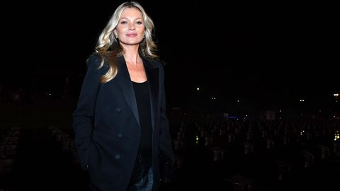 Kate Moss im September 2019 bei der Modewoche in Paris