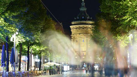 Fußgängerzone Mannheim