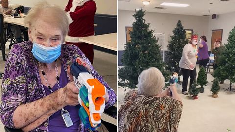 """Senioren gehen mit NERF-Guns auf """"Hirschjagd"""""""
