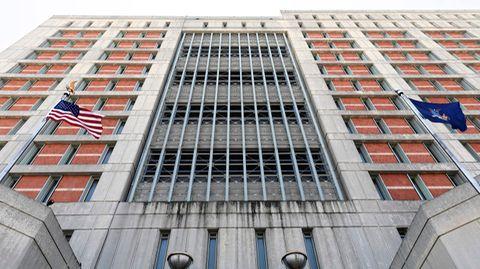 Das Gefängnis im New Yorker Stadtteil Brooklyn