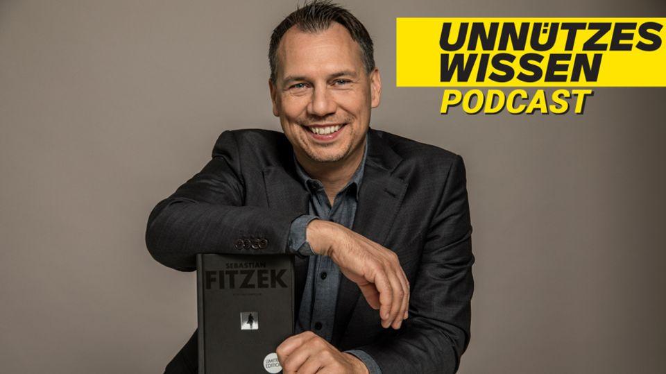 """Podcast """"Unnützes Wissen"""": Thriller-Autor Sebastian Fitzek über seinen Schreibprozess"""