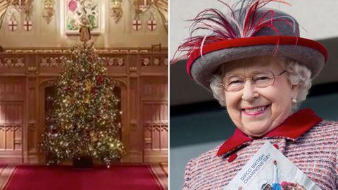 Der Weihnachtsbaum der Queen