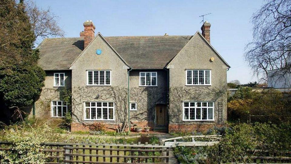 Außenaufnahme des Hauses der Familie Tolkien in der Northmoor Road in Oxford.