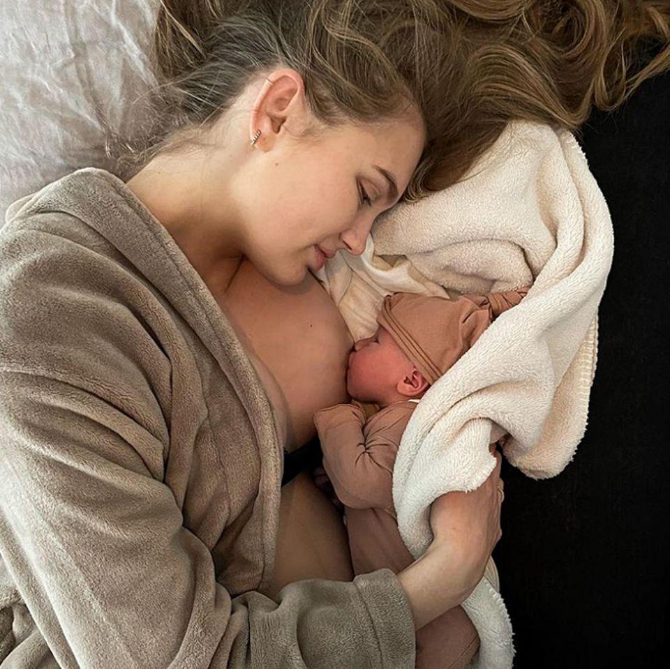Vip News: Model Romee Strijd – ihr Baby ist da