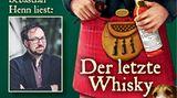 """Auch der deutsche AutorCarsten Sebastian Henn schreibt kulinarische Krimis, die in Großbritannienspielen. """"Der letzte Whisky"""" spielt auf der schottischen Insel Islay - wo besonders rauchige Whiskys wie Lagavulin, Laphroaig oder Ardbeg entstehen. Dort muss der deutsche Kulinaristik-Professor Dr. Dr. Adalbert Bietigheim einen Mord aufklären: Der Besitzer der besten Whiskybar Edinburghs wird tot im Moor gefunden.Die perfekte Begleitung zu einem stark getorften Tropfen.  Hier geht's zum Download bei Audible"""