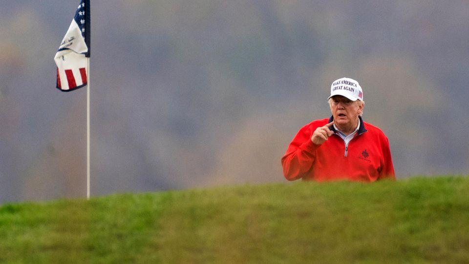 Mitten in Krisenzeiten: Corona, war da was? Warum Donald Trump lieber Golf spielt als die Pandemie zu bekämpfen