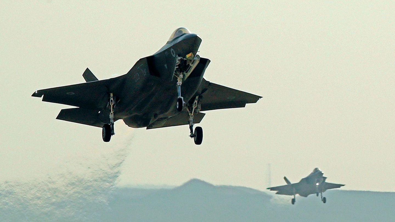 Israelische F-35-I-Kampfjets steigen auf