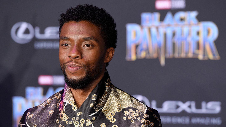 US-Schauspieler Chadwick Boseman kommt zur Premiere des Films Black Panther in dem er die Hauptrolle spielt