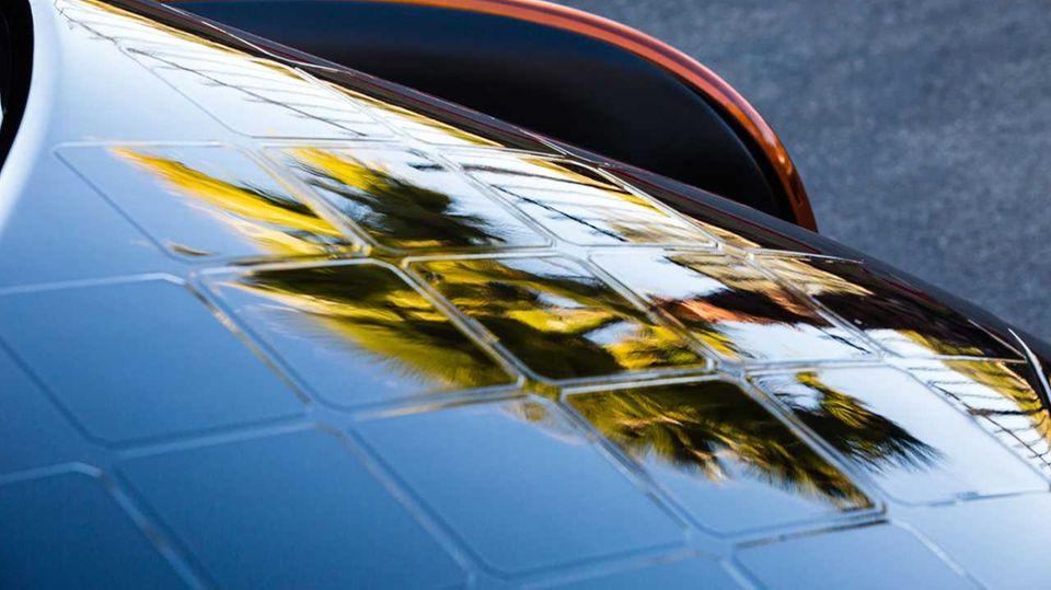 Die Solarpanels sehen ziemlich cool aus.