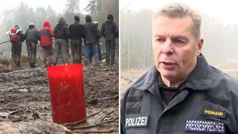 Letzte Rodungen im Dannenröder Forst: Emotionaler Abschied für Klimaschützer (Video)