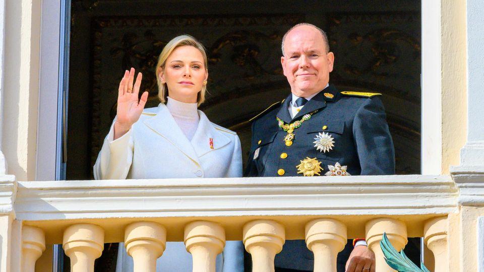 Charlène von Monaco und Fürst Albert