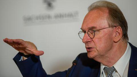 Sachsen-Anhalts MinisterpräsidentReiner Haseloff (CDU)