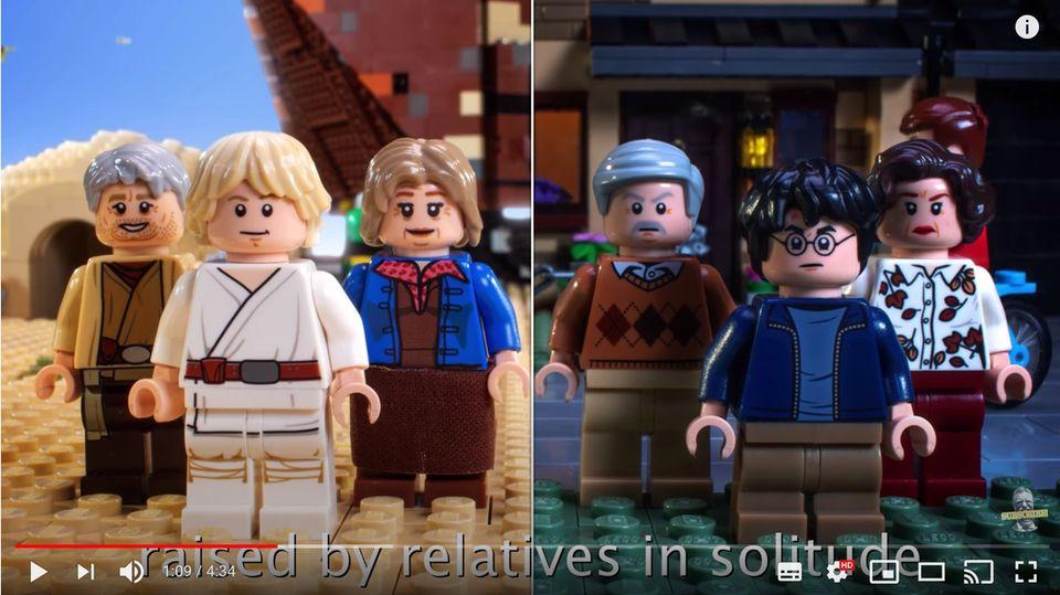 Battlerap: Duell der Giganten: Youtuber lassen Luke Skywalker und Harry Potter gegeneinander antreten