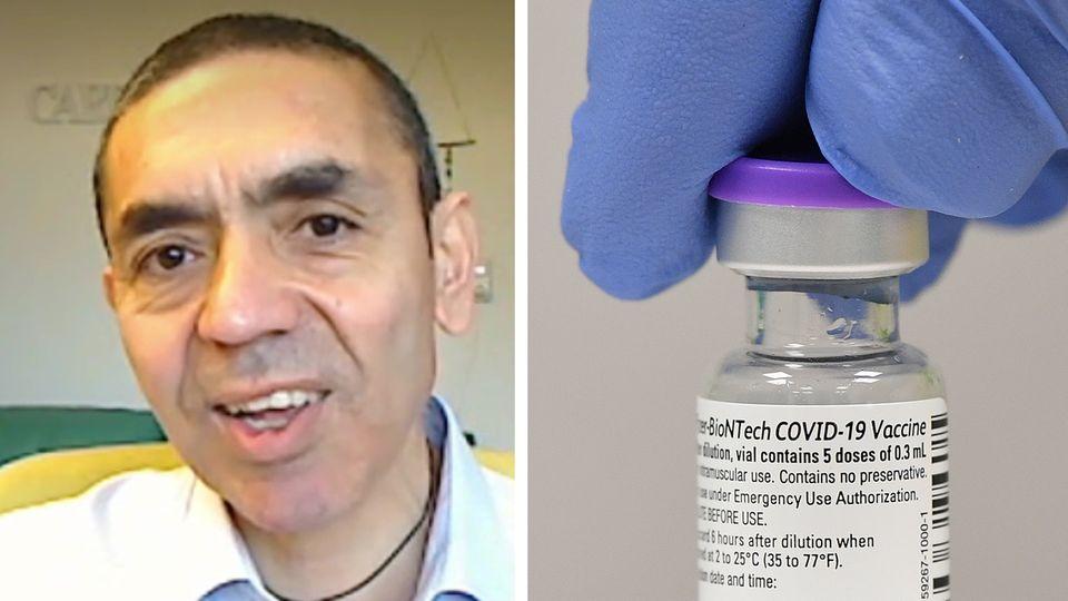 Biontech-Gründer Ugur Sahin im RTL-Interview zum Corona-Impfstoff