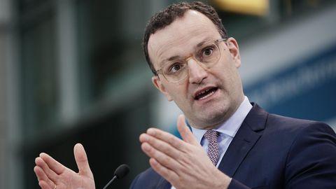 """Kampf um CDU-Vorsitz: Spahn sieht CDU weiter in der Krise: """"Grundprobleme noch da"""""""