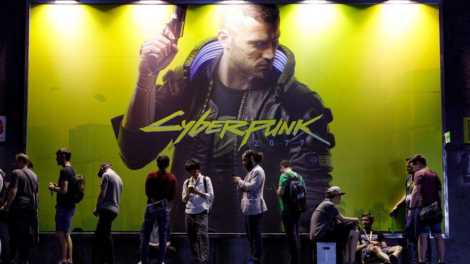 """CD Projekt-Chef Marcin Iwiński : Das neueste Spiel von CD Projekt - das Rollenspiel """"Cyberpunk 2077"""" - ist ab dem 10. Dezember im Handel"""