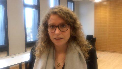 Christina Feist, Besucherin der Synagoge von Halle am 9. Oktober 2019 und Überlebende des Anschlags