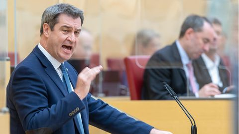 """Coronavirus: Söder will """"kompletten Lockdown"""" für knapp drei Wochen"""