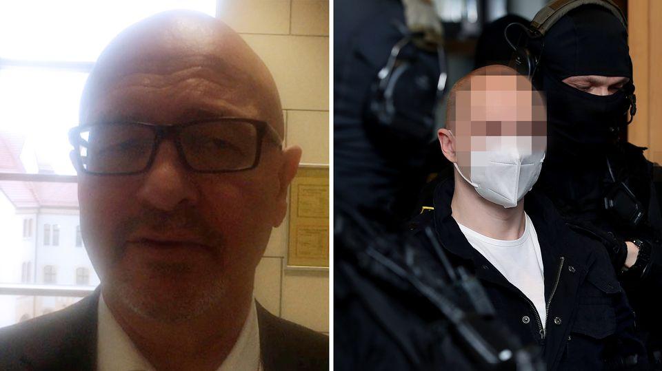 Halle-Prozess: Hans-Dieter Weber – Anwalt von Stephan B.