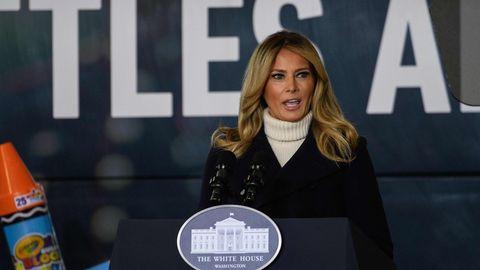 Melania Trump spricht