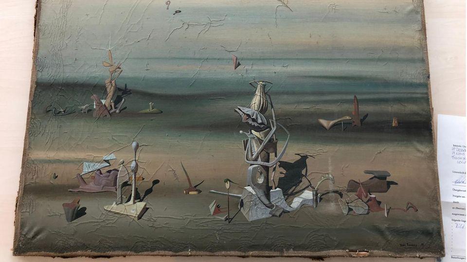 Nachrichten aus Deutschland: Gemälde des Surrealisten Yves Tanguy