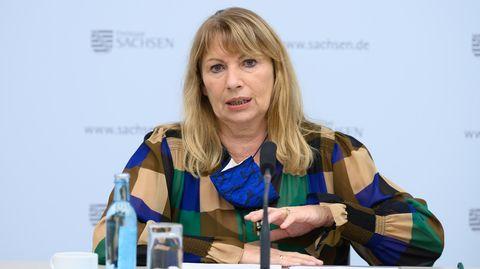 Die sächsische Gesundheitsministerin Petra Köpping
