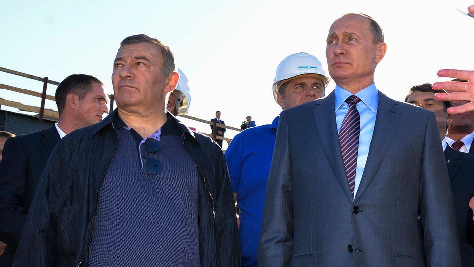 Russische Oligarchen: Wie ein Putin-Freund trotz Sanktionen in Deutschland Millionengeschäfte machte