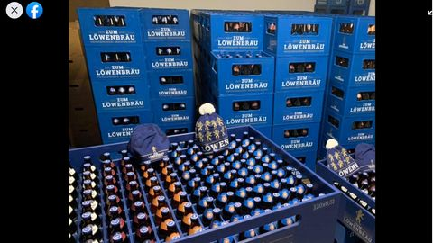 Franken: Brauerei erfindet XXL-Bierkasten – weil der Staat keine Corona-Hilfen zahlt