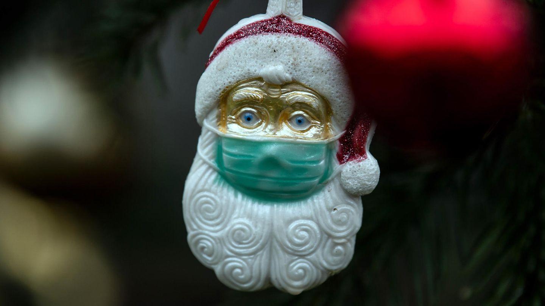 Weihnachten Corona: Weihnachtsbaumschmuck